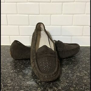 Jjill suede driving moccasins size 9.5